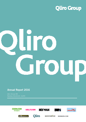 Qliro Group annual report 2016