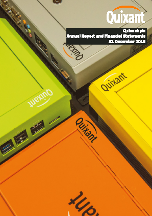 Quixant Plc annual report 2016