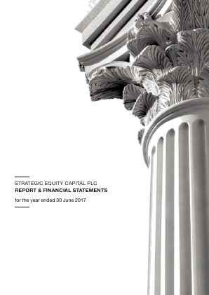 Strategic Equity Capital annual report 2017