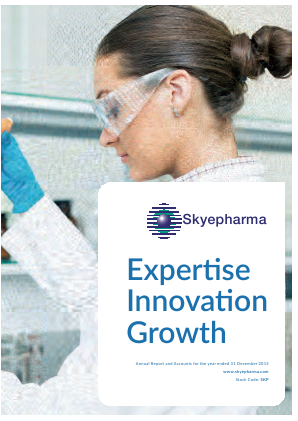 Skyepharma annual report 2015
