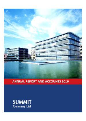 Summit Germany Ltd annual report 2016