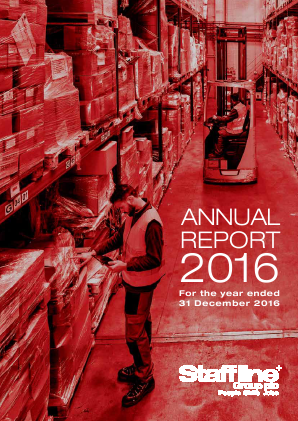 Staffline Group Plc annual report 2016