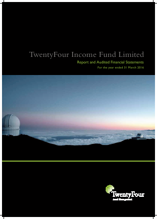 Twentyfour Income Fund Ltd annual report 2016