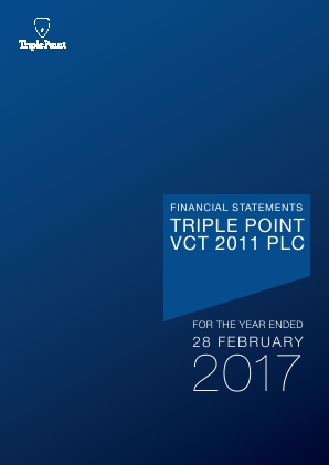 Triple Point VCT 2011 Plc annual report 2017