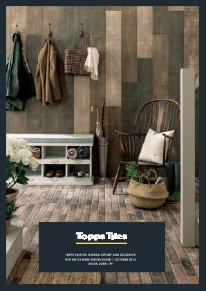 Topps Tiles Plc annual report 2016
