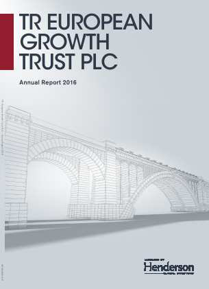 TR European Growth Trust annual report 2016