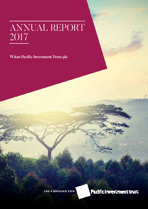 Witan Pacific Investment Trust annual report 2017