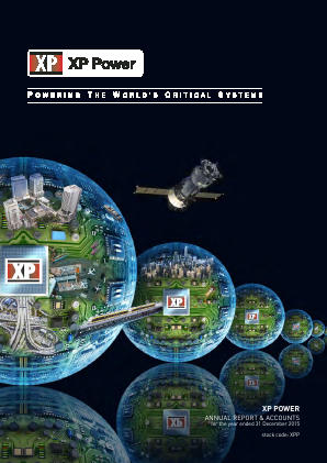 XP Power Ltd annual report 2015
